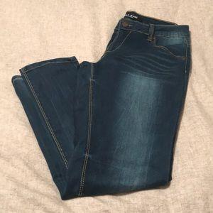 Crop Blue Jeans 👖